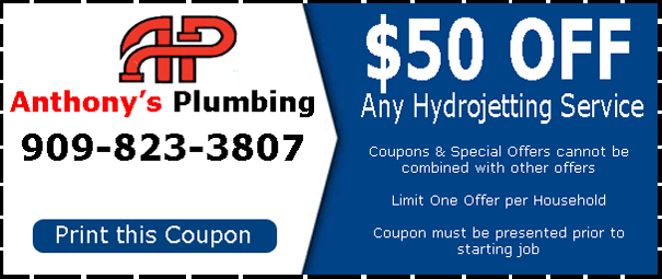 Anthony's Plumbing is Bloomington's best hydro jetting company.